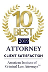 Top 10 Best Criminal Law Attorneys for Client Satisfaction